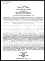 Private Placement Memorandum - Offering memorandum template